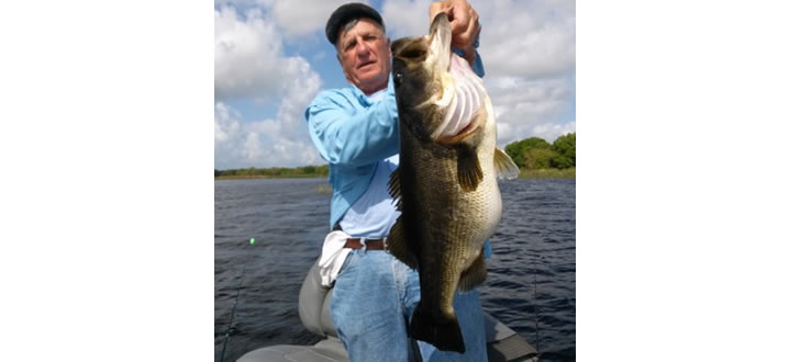 Orlando bass fishing guide service kissimmee central for Bass fishing disney world